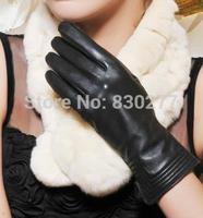 GSG   Ms.  Short paragraph sheepskin gloves warm shrink mouth     IGSSBW13297