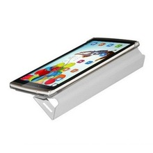 New Arrival Protective Smart Cover Leather Case for CHUWI VX3 White cover with Window Holder
