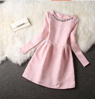 2015 autumn ladies slim elegant princess plus size dresses dress one-piece dress