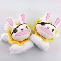 Date A Live Yoshino cosplay glove white rabbit moe gloves GL05