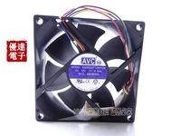 AVC 8CM ds08025t12hp028 12V 0.30A 80254 PWM temperature CPU case needle quiet fan