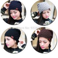 2015 New Sport Women Men Dual-layer Using Knit Beanie Style Fashion Skull Hat Winter Warm Cap Unisex