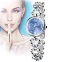 2014 new fashion high luxury bracelet classic retro clock diamond chain stylish high quality ladies women wrist dress watch