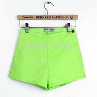summer green Women Vintage High Waist Shorts Jeans Short Jeans  jeans women's shorts shorts