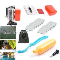 Gopro accessories Diving Kit for Gopro Hero 4 3+ Floaty Grip/Backdoor Case+Anti-fog Insert