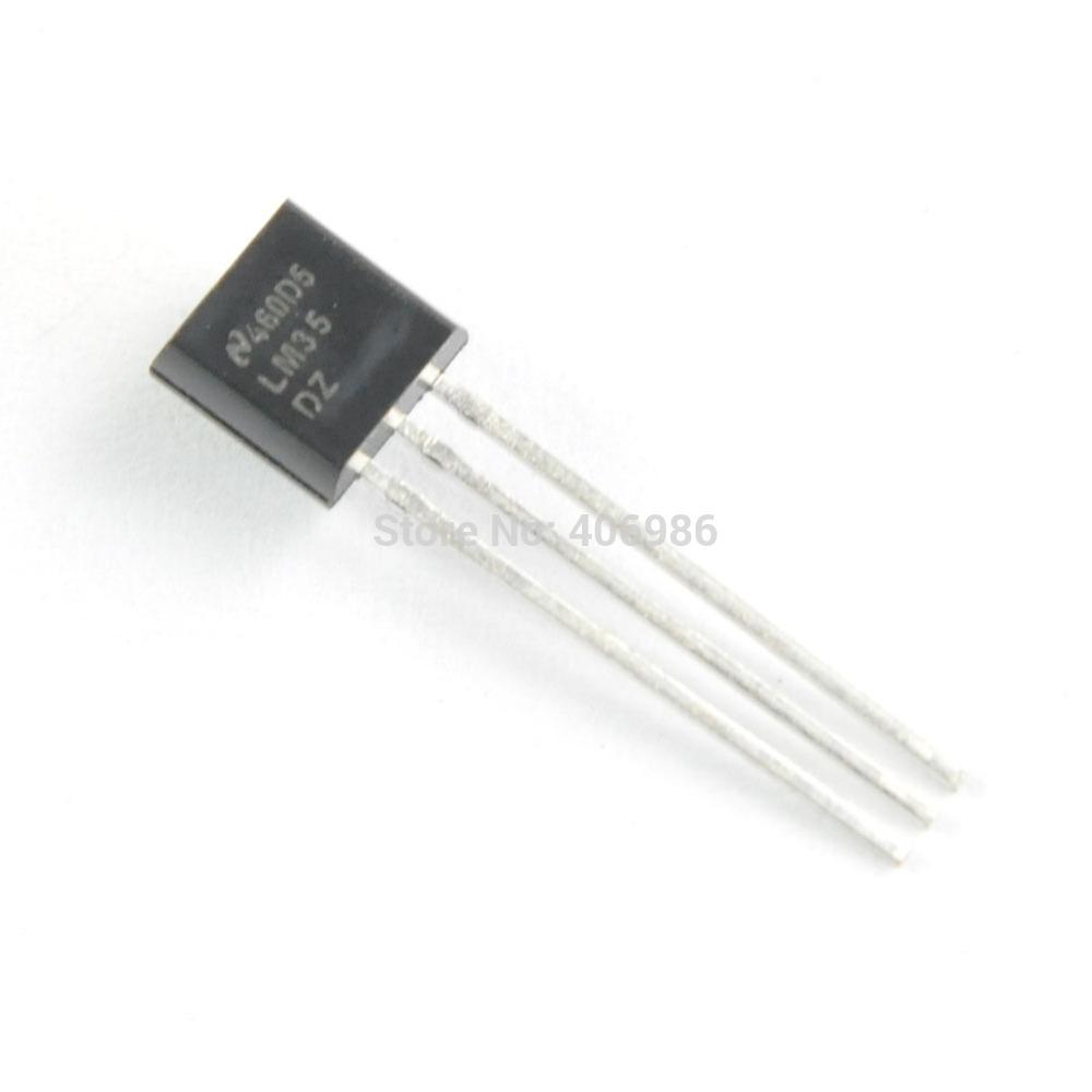 Фото Электронные компоненты 10pcs/lot LM35D TO92 FZ0328