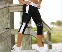 Free shipping 2014 Newest  good quality Women's Stretch Comfy Yoga Sports Pants Trouser capris womens,wholesale 500pcs/lot!