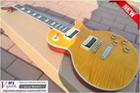 New! Slash yellow tiger maple veneer, mahogany body electric guitar free shipping