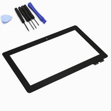 для Asus трансформатор Книга T100 T100TA сенсорный экран Панель планшетных дигитайзер Стекло Touch FP-TPAY10104A-02X-H Инструменты + бесплатная доставка