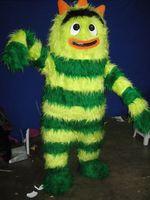 High quality Green Yo Gabba Gabba mascot costume custom fancy costume anime cosplay kits mascotte fancy dress carnival costume