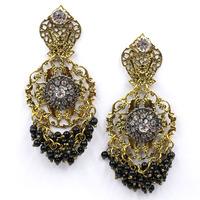 New 2015 women statement earring fashion pearl beaded stud Earrings for women jewelry factory price wholesale unique earrings