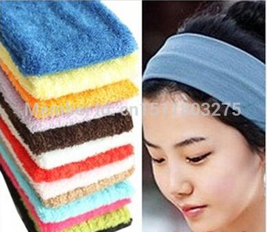 1PCS hot cool head hoop ring Yoga Fitness Korea hair band hoop elastic headband + FREE SHIPPING(China (Mainland))