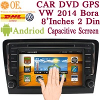2014 new 8 inch Andriod 4.1 CAR DVD VW  2014 Bora Capacitance HD screen with GPS