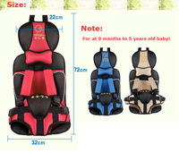 Wholesale 100% Quality Red Baby comfortable cushion Infant Car Seat Child Safety Car Seat for Kids 5-18KGS 3 Color Option