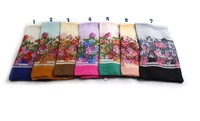 m2053 The spring of 2015 the new scarf in Europe and America flower long scarf shawl can be muslim hijab 7 colors in stock