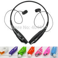 HV-800 Stereo wireless Bluetooth Headset HV800 neck halter style type headset Bluetooth headset with earphones for IPHONESAMSUNG