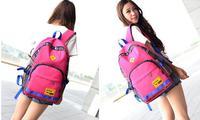 New Hot Girl Cute Pig Nose Women Men Backpack Student School Bag Canvas bag Casual Travel Rucksack Korean B20280