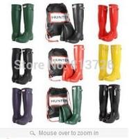 free shipping,2014 fashion long tall high rain boots waterproof women wellies boots,women rainboots,woman water shoes,10 color