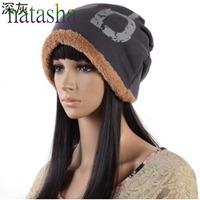 free shipping  lady fashion cashmere High Quality Knitting Wool Hat Women Girl Warm Winter Hat NA259