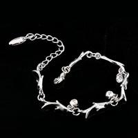 2015 New Year gift  Lovely small fish AAA+CZ Diamond Bracelet Zine Alloy Bracelet