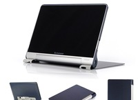 New Lenovo YOGA B8080 case Smart PU leather case cover For lenovo YOGA B8080 tablet case + Screen protector