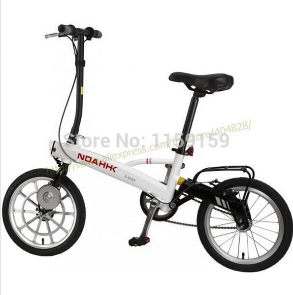 NOAHKK electric bicycle lithium battery electric folding electric city walking vehicle weight 9 kg(China (Mainland))