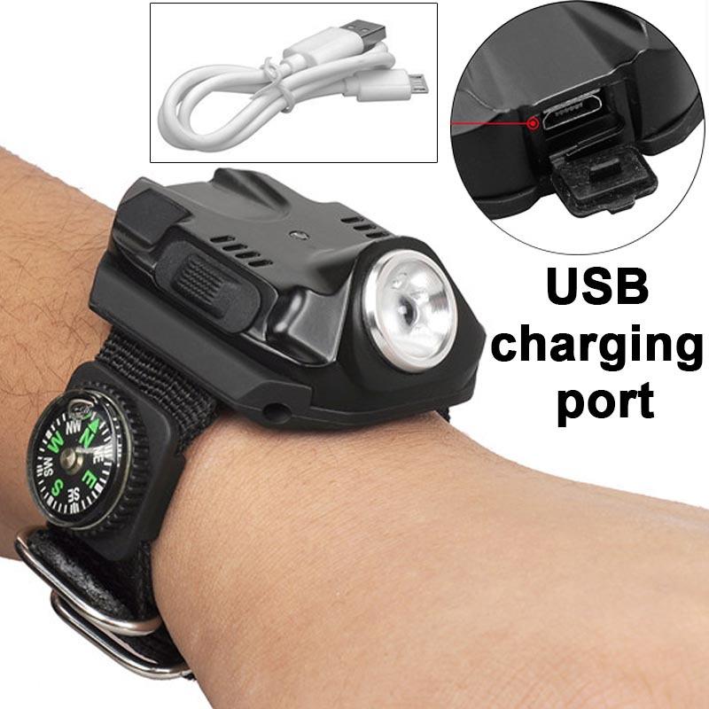 Фонарик HEDELI Lanterna USB EDC  HD503A2 фонарик vander multifunctional18650 edc