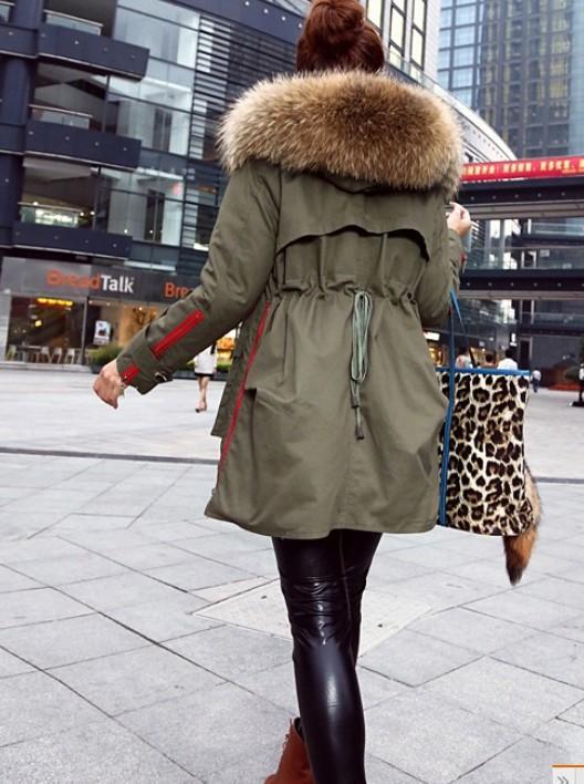 Kış ceket kadın kat kalın yeni 2 014 palto kadın parkalar ordu