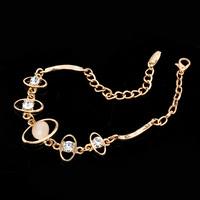 Gold plated Zinc Alloy Bracelet