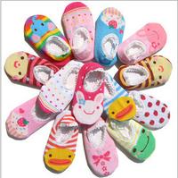 Fashion Baby Childrens Socks Slippers Anti Non slip Cute