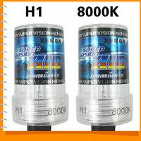 1pair! 12V 35W H1 8000K Xenon HID Car Headlight Bulbs Waterproof Auto Car Headlamp Replacement
