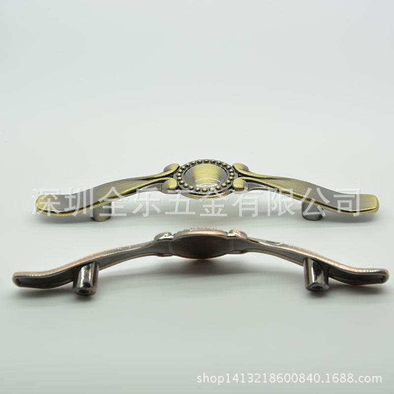 Factory direct European bronze door handles, classical zinc alloy drawer sliding door handle B236-78(China (Mainland))