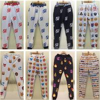 S-XL New 2015 Women's Joggers Leggings Fashion Printing For Women/Girl Sweatpant Trousers Plus Size Sports Leggings