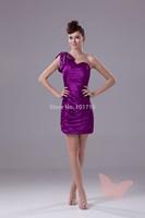 Dynamic shoulder prom dress.
