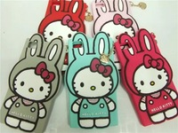 Aomail New 3D Cute Cartoon Rabbit KT Silicone Back Case Cover for Xiaomi 3 Free shipping
