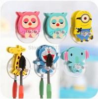 Cartoon Animal Pattern Toothbrush holder Joker Bathroom Storage Holders&Racks Wood&Plastic Retail&Wholesale New Fashions