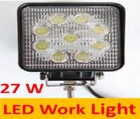 LED work lights / car lamp / off-road lights / off-road lamp / 27W square shape
