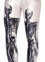wholesale Europe and the United States skull printing skeleton Leggings pants american apparel Dropship BXYD002