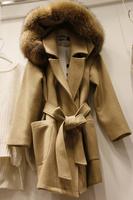 NEW 2015 Autumn and winter loose wool coat outerwear medium-long woolen outerwear female jackets