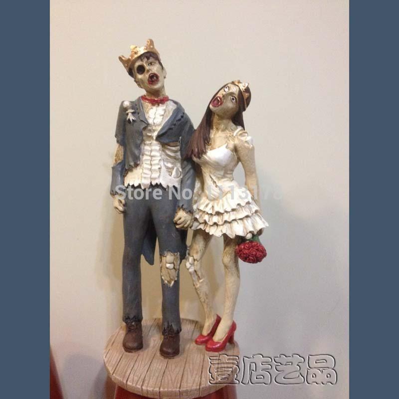 Skeleton Wedding Cake Topper Australia