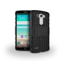 For LG Optimus G3 Case Hybrid TPU Hard Shockproof 2 In 1 With Stand Function Cover Cases