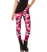fashion fashion women sport leggings pants fashionable camouflage summer Leggings Dropship BXYD015