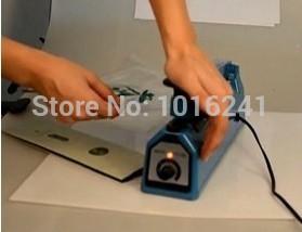 New Hand Sealing Machine Impulse Heat Manual Seal Machine Plastic Poly Bag Sealer Sealing Length 30cm 11.8inch(China (Mainland))