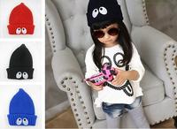 2015 New Elf Caps Unisex Big Eyes Wool Cap Children Lovely Hat HT013