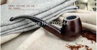 HOT NEW Mens Durable Wooden Pipe 9mm tobacco pipes tobacco filter element Doo  Woodgrain  (1 pcs/lot)