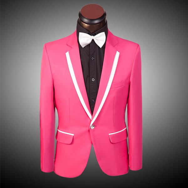 online kaufen gro handel pink wedding suit aus china pink. Black Bedroom Furniture Sets. Home Design Ideas