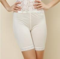 LANZIBES 100% silk pants  safety pants Ms. summer Lace Silk Knitting five female 5 PANTS LEGGINGS