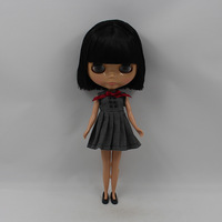 Free Shipping hot sale TB-488  Nude B doll lovely DIY toy birthday gift for girls fashion 4 big eyes dolls with beautiful hair