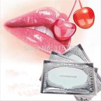 Women Collagen Protein Crystal Moisturizing Lip Film Crystal Collagen Lip Mask 5000Pcs/lot Wholesale DHL free shipping