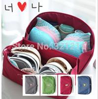 New Creative Canva Partition Travel Bag Storage Organizer For Bra Underwear  Sock (26*13.5*13.5cm)